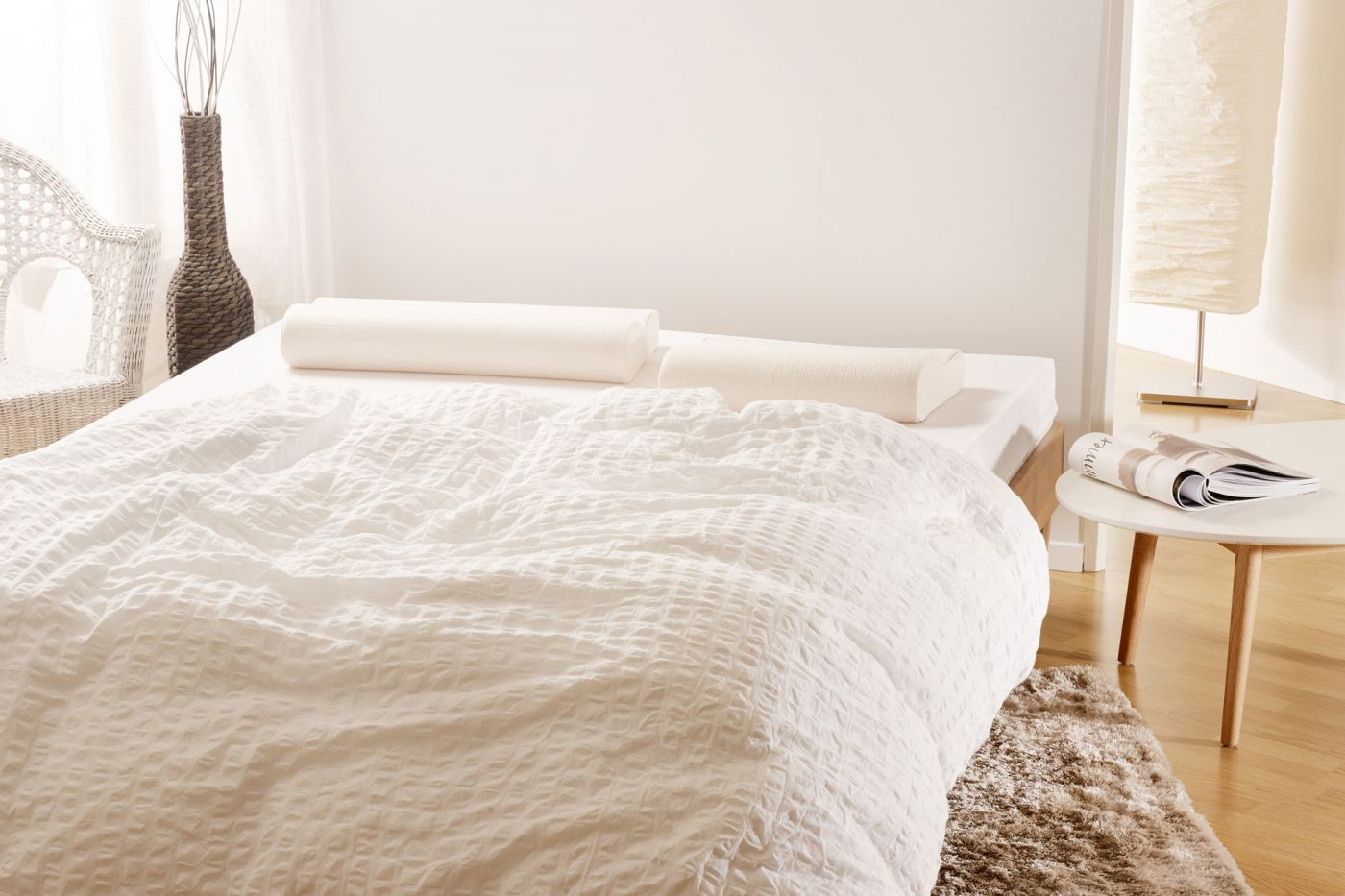 3 in 1: Finding your personalised elsa mattress is so easy. <i>Makes your Boxspring bed even more relaxing.</i><br>